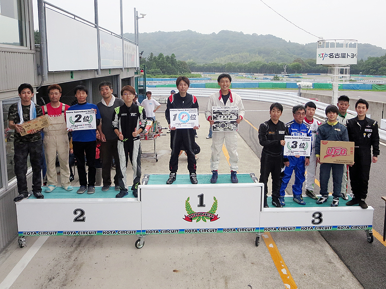 """SPARCO""Presents 2018 Enjoy Sport Kart Series 第3戦"